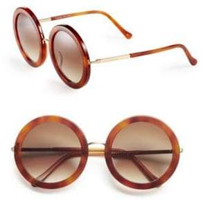 Isabella Collection Sunday Somewhere 53mm Round Sunglasses