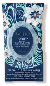 Pacifica Purify Facial Cleansing Wipes