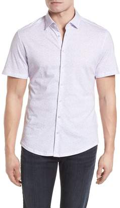 Stone Rose Knit Sport Shirt