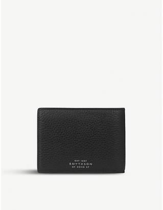 Smythson Burlington leather multi currency wallet