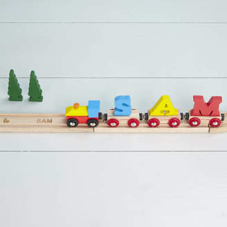 The Letteroom A Pack Of Personalised Train Track