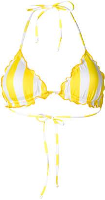 MC2 Saint Barth striped bikini top