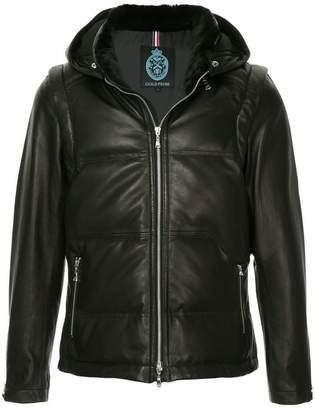 GUILD PRIME hooded lambskin jacket