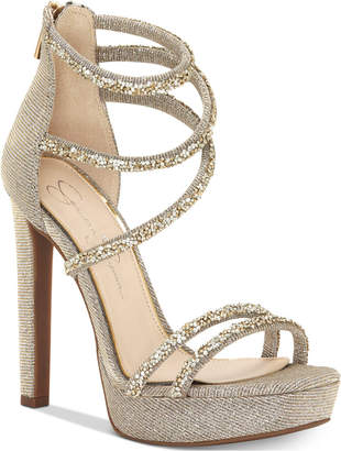Jessica Simpson Beyonah Platform Dress Sandals Women's Shoes