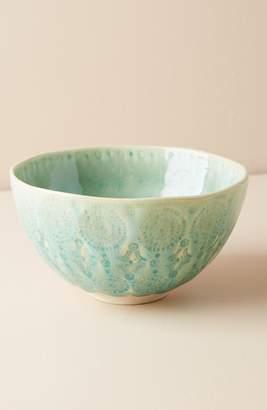 Anthropologie Old Havana Stoneware Cereal Bowl