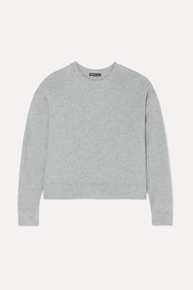 James Perse Cotton-jersey Sweatshirt - Gray