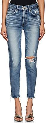 Moussy VINTAGE Women's Lindsay High-Rise Skinny Jeans - Blue