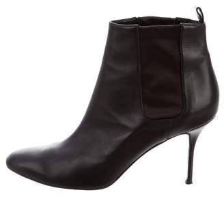 Pierre Hardy Leather Round-Toe Boots