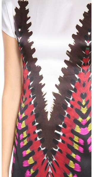 Rodarte Printed Tie Dye T-Shirt Dress