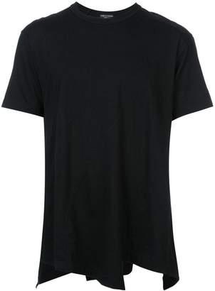 Comme des Garcons asymmetric hem loose T-shirt