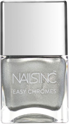 Nails Inc Steely Stare Chrome Nail Varnish 14ml