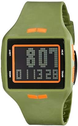 Vestal Unisex HLMDP22 Helm Digital Display Quartz Green Watch