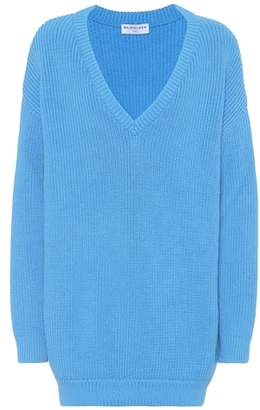 Balenciaga Cotton-blend sweater