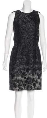 Bottega Veneta Sleeveless Textured Dress