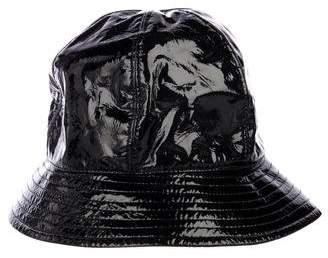 Chanel Patent Bucket Hat