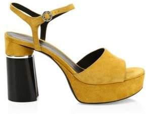 3.1 Phillip Lim Ziggy Suede Platform Sandals