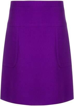 Marni panelled high waist A-line skirt