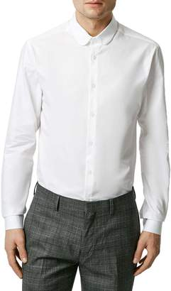 Topman Penny Collar Shirt