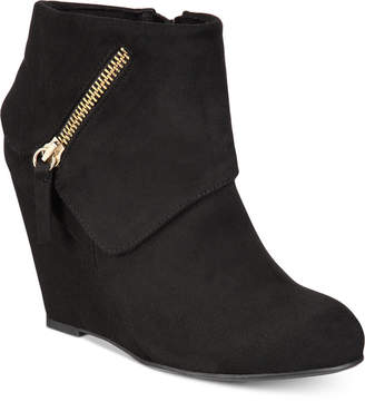 Zigi Rebel by Women's Ksenia Wedge Booties Women's Shoes