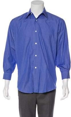Hermes Check Dress Shirt