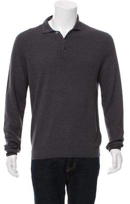 Canali Cashmere & Silk-Blend Sweater