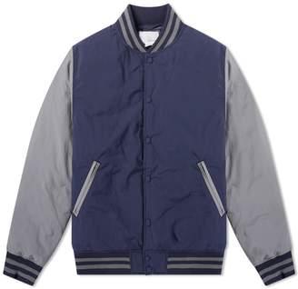 Nanamica Down Varsity Jacket