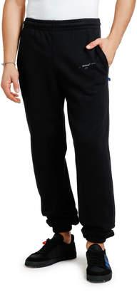 Off-White Off White Men's Unfinished Slim Sweatpants