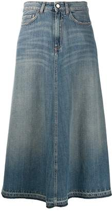 Alysi long straight skirt