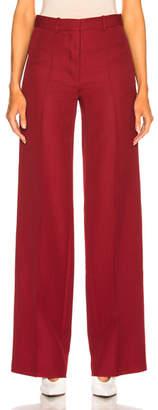 Victoria Beckham Wool Wide Leg Trousers