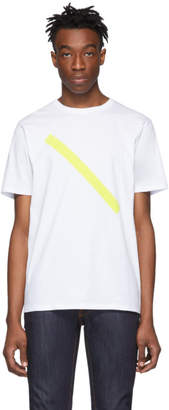 Saturdays NYC White Slash T-Shirt