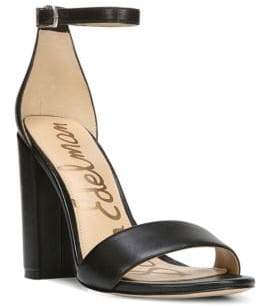 Sam Edelman Yaro Leather Ankle-Strap Sandals