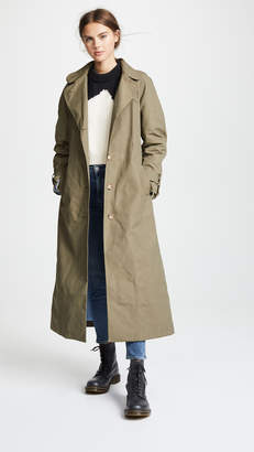 Anna October Tie Waist Trench Coat