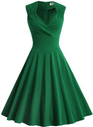 MUXXN Women's Classic Style Flattering Slim Evening Formal Dress ( M)