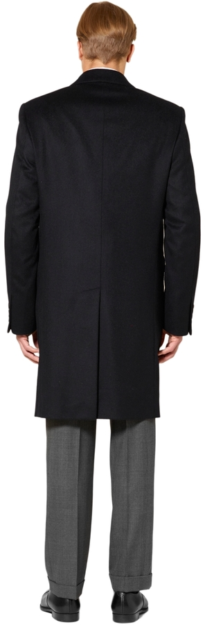 Brooks Brothers Wool and Cashmere Classic Overcoat