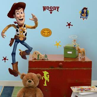 story. Room Mates Toy Woody Giant Wall Decal
