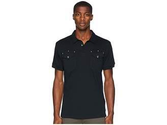 Versace Studded Pocket Polo