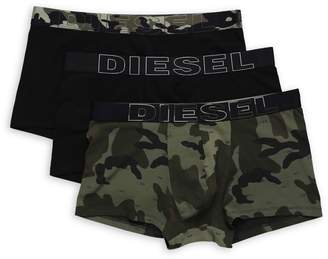 Diesel 3-Pack Umbx-Damien Boxer Briefs