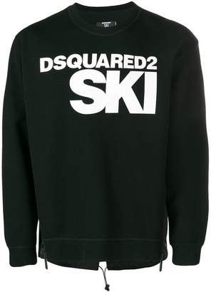 DSQUARED2 Ski logo sweater