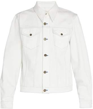 Calvin Klein Sandra Brant-patch denim jacket