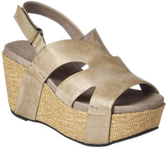 Antelope 879 Leather Wedge Sandal