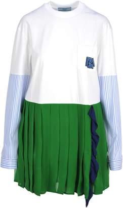 Prada Dress Pleated Skirt