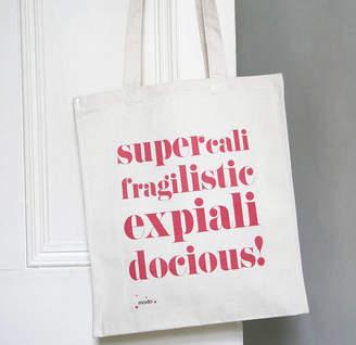 Modo creative 'Supercalifrajilistic' Bag