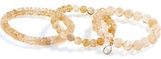 Dee Berkley Set of Three Citrine Bracelets