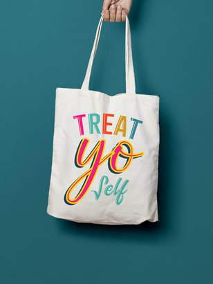 c607fe28754 Stephanie B Designs Treat Yo Self Tote Bag