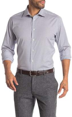 Eton Gingham Long Sleeve Slim Fit Shirt