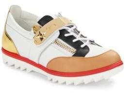 Giuseppe Zanotti Colorblock Leather Sneakers