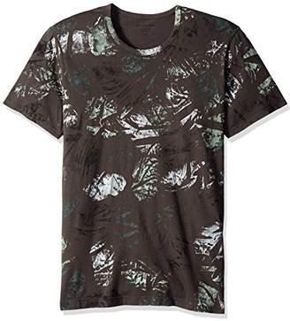 Splendid Mills Men's Mills Short Sleeve Crew Neck Painted Camo T-Shirt