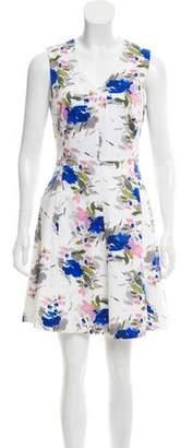 Reiss Printed Mini Dress