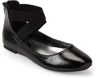 Nina Toddler Girls) Black Teena Elastic Strap Ballet Flats