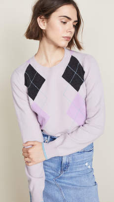 Pringle Argyle Rib Sweater